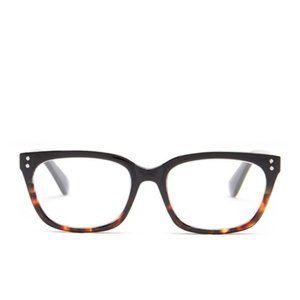Ellen Tracy Square Acetate Frame Reading Glasses